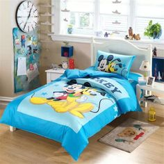 Mickey Mouse Bedding Set Uk Pluto And Mickey Bedding