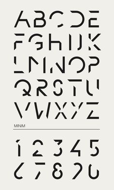 Minim by Ion , via Behance