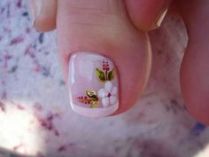 Lindo Pedicure Designs, Pedicure Nail Art, Toe Nail Designs, Pretty Toe Nails, Cute Toe Nails, My Nails, Toe Nail Color, Toe Nail Art, Simple Nail Art Designs