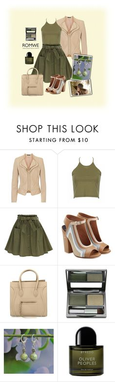ROMWE by styledonna on Polyvore featuring moda, Betty Barclay, Laurence Dacade, DuWop, Byredo, contest and romwe