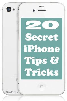 20 Awesome iPhone Tips & Tricks (with picture tutorials) I don't know about you, but my iPhone goes everywhere with me, and in doing a little research, I've found that I've been using it for years without knowing all of the features, shortcuts, tips and tricks.