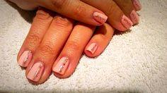 #Manicure #pink #glitter #shortnails #venus #beauty