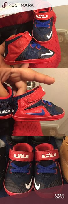 Brand New Baby Lebron James shoes Brand new baby Nike Lebron James shoes size 2c Nike Shoes Sneakers