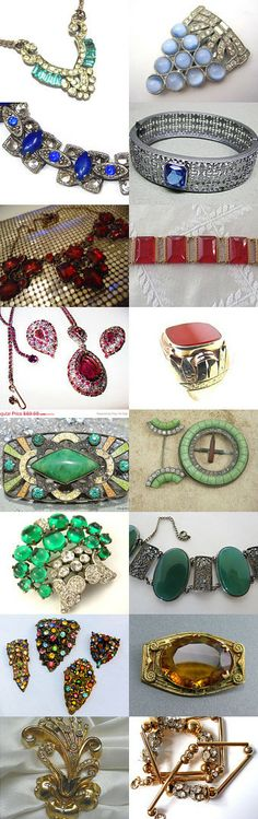 Art Deco Glory from the Ecochic Team by pilmanis on Etsy--Pinned with TreasuryPin.com