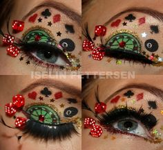 So many costume eye make up ideas! Too many to pin individually so have a look.. Makeup looks   bareiselin