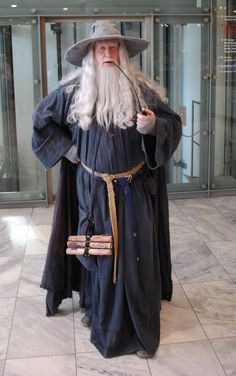 Awesome Gandalf Cosplay at the Frankfurter Buchmesse 2012