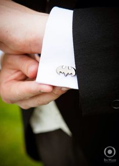 Wedding Batman Cufflinks