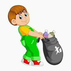 A man carry trash bag Royalty Free Vector Image Save Water Poster Drawing, Diy Room Decor For Girls, Boy Crying, Composition Painting, Islam For Kids, Art Drawings For Kids, Trash Bag, Precious Children, Environmental Art