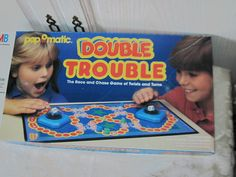 Double Trouble Miltion Bradley Game  1987 / by Daysgonebytreasures, $20.00