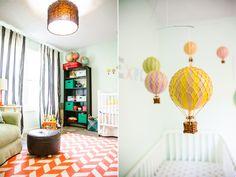 Hot air balloon / travel nursery