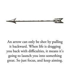 Reason for arrow tattoo