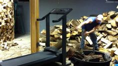 Treadmill firewood...