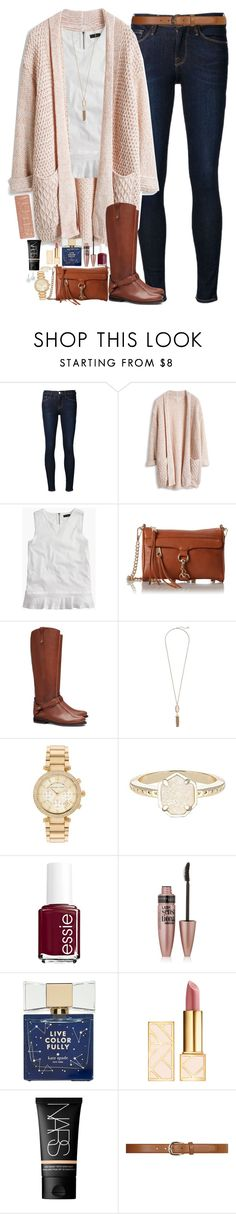 """Comment To Be On My Tag List!"" by teamboby ❤ liked on Polyvore featuring moda, Frame Denim, J.Crew, Rebecca Minkoff, Tory Burch, Kendra Scott, Michael Kors, Essie, Maybelline y Kate Spade"