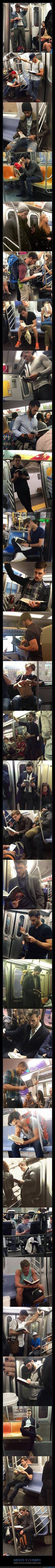 31 tíos buenos e intelectuales, con los que desgraciadamente nunca te has encontrado en el metro - Asúmelo, nunca vas a encontrarte a ninguno de ellos