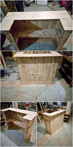 Use Pallet Wood Projects to Create Unique Home Decor Items – Hobby Is My Life Pallet Crafts, Diy Pallet Projects, Wood Projects, Wood Crafts, Diy Crafts, Pallet Furniture, Rustic Furniture, Furniture Storage, Unique Furniture