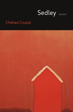Sedley by Chelsea Coupal. Although many readers may be familiar with stories about rural Saskatchewan from the early 20th century, Chelsea Coupal's poetry collection Sedley tells a different story: one of small town Saskatchewan from a modern perspective.