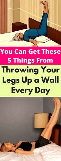 You Can Get These 5 Things From Throwing Your Legs Up a Wall Every Day - seeking habit