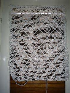 Simple Plarn Curtain – Free Pattern fillet crochet chart