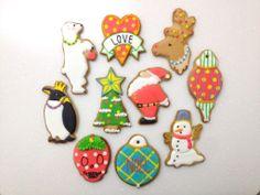 christmas sugar cookies by cookieboy