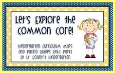 Lil Country Kindergarten - Commoncore Linky Party for Kindergarten#Repin By:Pinterest++ for iPad#