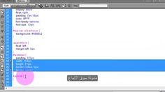 تكويد ستايل مربع البحث css - الدرس الثاني الجزء الثالث - دورة تصميم الويب