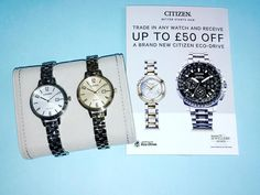 We have a fabulous new range of Citizen Eco-Drive watches in store and a great incentive trade in any watch and receive up to 50 off a brand new Citizen watch! #platinum #diamond #emerald #sapphire #ruby #handmade #jewellery #diamondjewellery #gold #berkhamsted #hertfordshire #london #watch #luxury #england #engagementring #wedding #weddingring #baileyandsons #raymondweil #frederiqueconstant #tissot #clogau #bespokejewellery #pendant #ring #bracelet #earrings