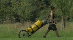 Offroad hiking cart - Hamadryad