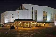 Opera House: Essen, Germany  Alvar Aalto, architect