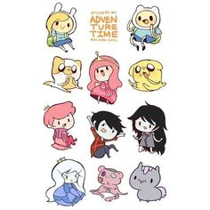 Cute things found on Polyvore featuring polyvore and adventure time