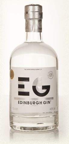 Edinburgh Gin Bottling Note by Spencerfield Spirits