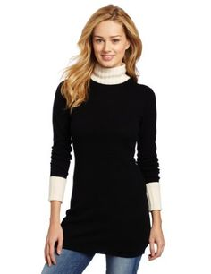 Magaschoni Womens 100% Cashmere Turtleneck Tunic Sweater, Black, Small Magaschoni,http://www.amazon.com/dp/B00A488GN6/ref=cm_sw_r_pi_dp_9lbIrb733A06468A