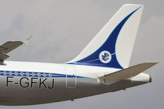 Air France  Retrojet F-GFKJ A320 Air France, Boeing Planes, Air Transat, Post War Era, Float Plane, Airline Logo, Cathay Pacific, Commercial Aircraft, Aeroplanes