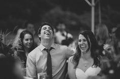 Wedding Speeches at Wallace Falls Lodge