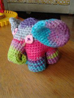 amigurimi elephant