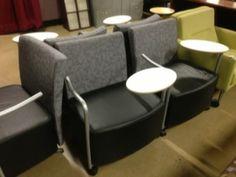 Used Chairs, Grey, Furniture, Black, Gray, Black People, Home Furnishings, Arredamento