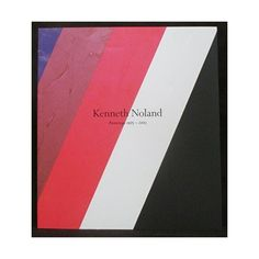 Kenneth Noland Paintings 1975-2003 (430 MXN) ❤ liked on Polyvore featuring home, home decor and wall art