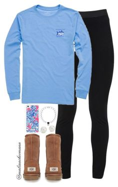 """""""Yay or nah?"""" by maliaackermann ❤ liked on Polyvore featuring Peace of Cloth, UGG Australia, Lilly Pulitzer and Blue Nile"""