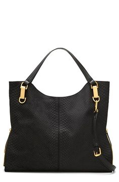 Vince Camuto 'Riley' Snake Embossed Leather Tote available at #Nordstrom