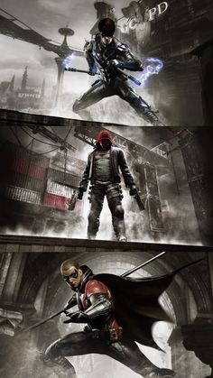 'Arkham City' Team Robin Wasn't the third Robin named Red Robin? I wonder if he worked there XD