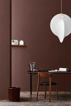 Jotun Lady just came out with their new color chart for 2020 and it makes me want to paint all the surfaces in my apartment in those subtile, yet deep tints. I'm really falling for that Local green wall color … Continue reading → Interior Styling, Interior Decorating, Brown Interior, Jotun Lady, Green Wall Color, Shades Of Burgundy, Neutral Walls, Paint Brands, Home And Deco
