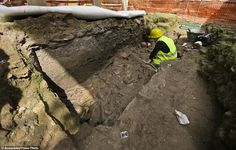 Rome metro line runs into Roman barracks and burial ground | Daily Mail Online