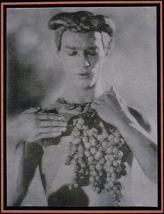 Nijinsky, L'Après Midi d'un Faune, 1912