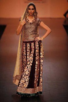 Shyamal & Bhumika - Lakme Fashion Week Winter/Festive