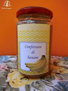 confettura di banane