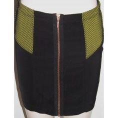 Bershka dámská sukně černá S
