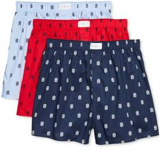 Tommy Hilfiger, Cotton Boxer Shorts, Fashion Outfits, Mens Fashion, Sport Shorts, Samba, Swim Trunks, Mens Clothing Styles, Patterned Shorts