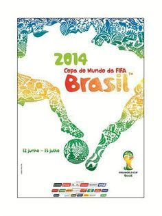 Poster FIFA 2014 World Cup - #Brazil