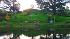 A fine evening in Hobbiton   by CJPulling