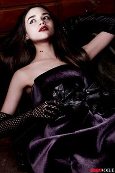 The Stars of the 2013 Young Hollywood Portfolio Tackle Horror's Most Iconic Roles: India Eisley as The Vampire Vixen