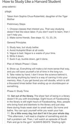 Part how to study like a Harvard student - Education College Life Hacks, School Hacks, College Success, School Motivation, Study Motivation, Motivation For Studying, Studyblr, Planning School, Harvard Students